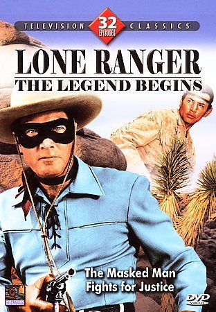Lone Ranger - The Legend Begins Dvd