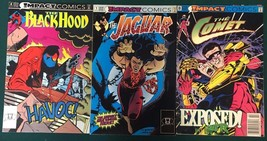 BLACK HOOD COMET JAGUAR lot (3) issues (1991/1992) Impact DC Comics VG+ - $9.89