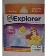 Leap Frog Explorer Learning Disney Princess Pop-Up Story Adventures-Read... - $14.99