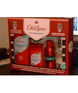 NEW Old Spice Pure Sport Gift Set Body Spray Cologne Deoderant Body Wash... - $34.95