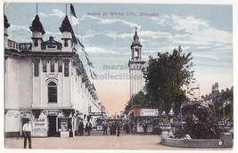 CHICAGO Illinois IL, WHITE CITY AMUSEMENT PARK, STREET LEVEL VIEW 1910s ... - $6.50
