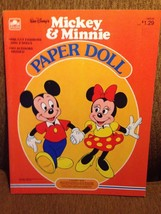Walt Disney's Mickey and Minnie Mouse Paper dol... - $35.00