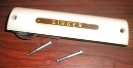 Singer 301 Off White Lamp Cover #170127 w/Glass Lens #170125 & 2 Mountin... - $15.00