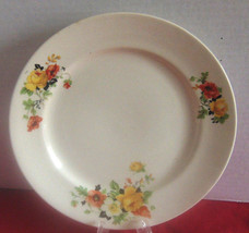 Vintage Homer Laughlin Kwaker Olivia Poppy Plat... - $6.49