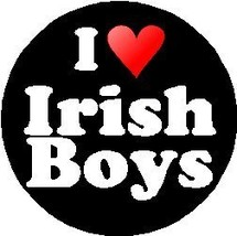 I Love Irish Boys MAGNET heart - $10.03