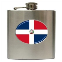 Dominican Republic Stainless Steel Hip Flask - €12,70 EUR