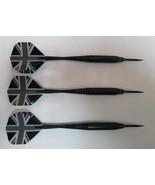 Pure Shot 21g British Steel Tip Darts  flights shafts tips case - $13.95