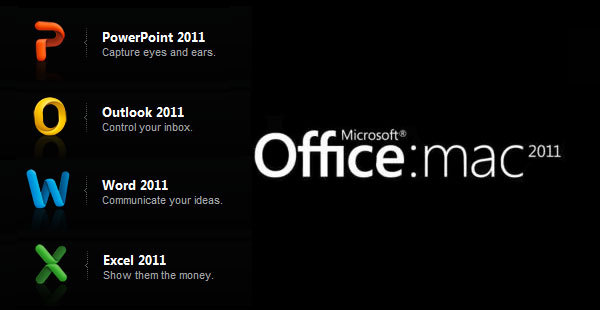Microsoft Office Home and Business 2011 for Mac KEY LICENSE