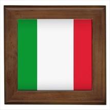 Italian Flag Framed Wall Tile Art (Home Decor) - $12.54