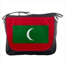 Maldives Flag Messenger Bag - $36.90