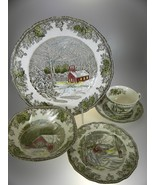 Johnson Bothers Friendly Village 5 PC Place Setting (MADE IN ENGLAND) - $42.97