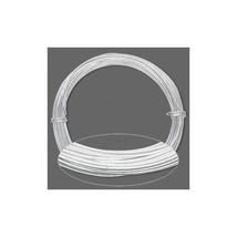 ALUMINUM CRAFT Jewelry WIRE 17ga SILVER 45 ft ~ 17 Gauge ~ Bulk Roll Non... - $5.71