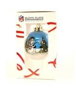 Eagles NFL Glass Christmas Ornaments Hand Painted Collectors NIB Philadelphia - $12.86