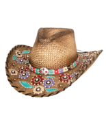 Bullhide Setting The World Panama Straw Cowgirl... - $110.00