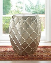QUATREFOIL DESIGN METAL STOOL 16846 - $99.95