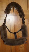 JMS Sheepskin Halter Fleece 4 Piece Set Choice of: Brown or Navy - $37.95