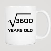 Square Root 60 Years Old Mug - ₨843.40 INR