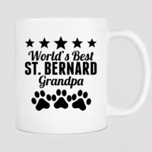 World's Best St. Bernard Grandpa Mug - $12.99