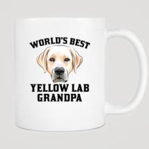 World's Best Yellow Lab Grandpa Mug - $12.99