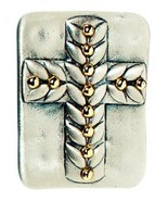"""Grasslands Road Inspirations """"Do not be afraid"""" Cross in My Pocket Pewte... - $6.99"""