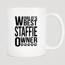 World's Best Staffie Owner Mug - ₨843.40 INR