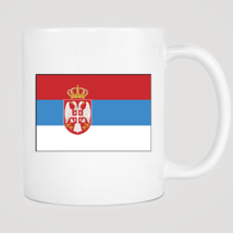 Serbia Flag Mug - ₨843.40 INR