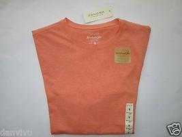 Sonoma Life + Style Weekend Tee SSL Men's Knits T-Shirt Orange Heather M $20 - $9.89