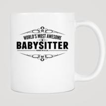 World's Most Awesome Babysitter Mug - ₨843.40 INR