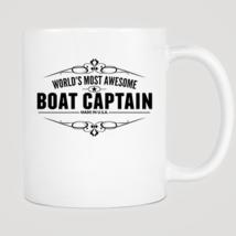 World's Most Awesome Boat Captain Mug - $12.99