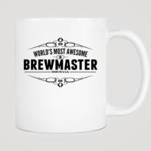 World's Most Awesome Brewmaster Mug - $12.99