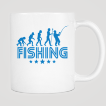 Retro Fishing Evolution Mug - ₨843.40 INR