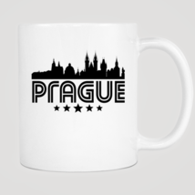 Retro Prague Skyline Mug - $12.99
