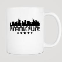 Retro Frankfurt Skyline Mug - $12.99