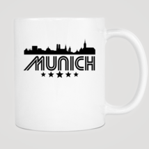 Retro Munich Skyline Mug - $12.99
