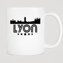 Retro Lyon Skyline Mug - $12.99