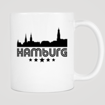 Retro Hamburg Skyline Mug - $12.99