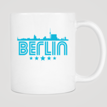 Retro Berlin Skyline Mug - $12.99