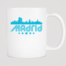 Retro Madrid Skyline Mug - $12.99