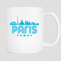 Retro Paris Skyline Mug - $12.99