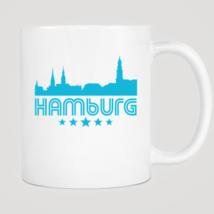 Retro Hamburg Skyline Mug - $12.99