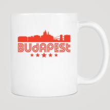 Retro Budapest Skyline Mug - $12.99