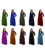 DBG Women's Polyester Long Sleeves Maxi Dress - $44.99+