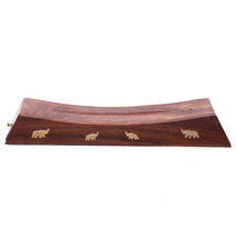 Decorative Sheesham Wood Incense Stick Elephant... - $9.14
