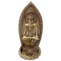 Decorative Thai Buddha Incense Holder Wall Orna... - $11.69