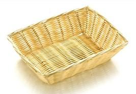 "Rattan Basket Rect 23 x 15cm / 9 x 6"" - $9.82"