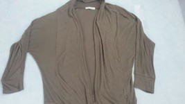 Women brown tea n rose shirt S bin29 #18 - $5.00