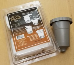 NEW Perfect Pod EZ-Cup Paper Coffee Filters Use W/ A Reusable Ez K Cup 5... - $9.69
