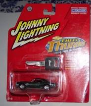 Johnny Lightning CHEVY Thunder Olive Green '68 CAMARO redlines 1969 w/ key - $9.99