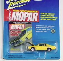 2000 Johnny Lightning Mopar 1971 Dodge Demon  yellow - $7.99