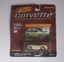 1954 CHEVY  CORVETTE CONVERTIBLE COLLECTION SERIES 5 JL JOHNNY LIGHTNING - $5.99